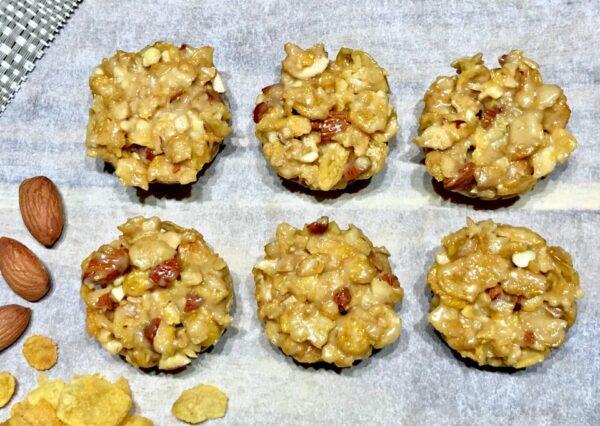 5 Ingredient Crunchy Nut Cups