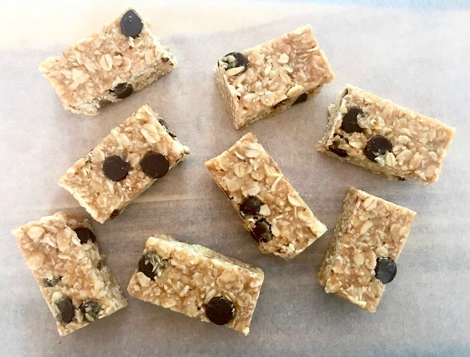 Peanut Butter Chocolate Oat Bites