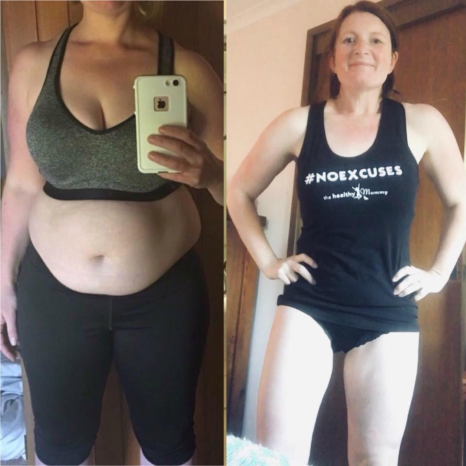Bec Jackson weight loss