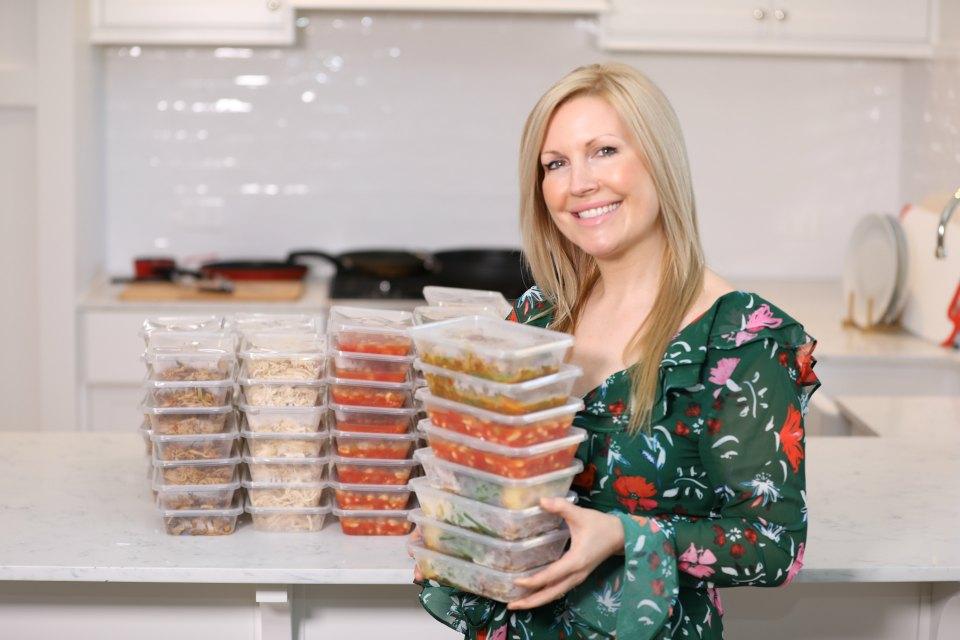 rhian holding meals