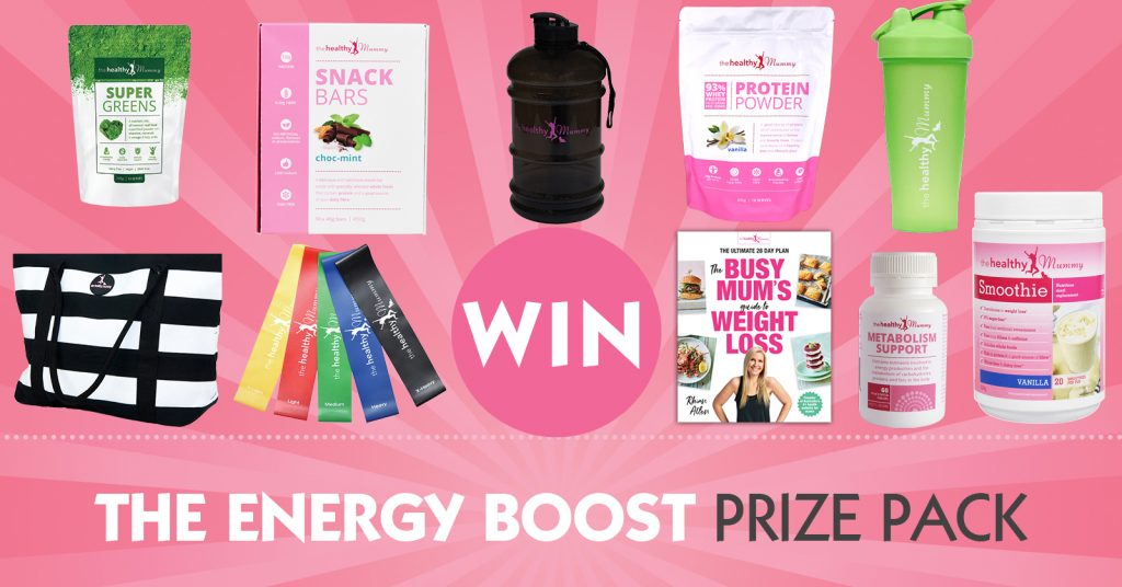 Win the Energy Boost Prize Pack