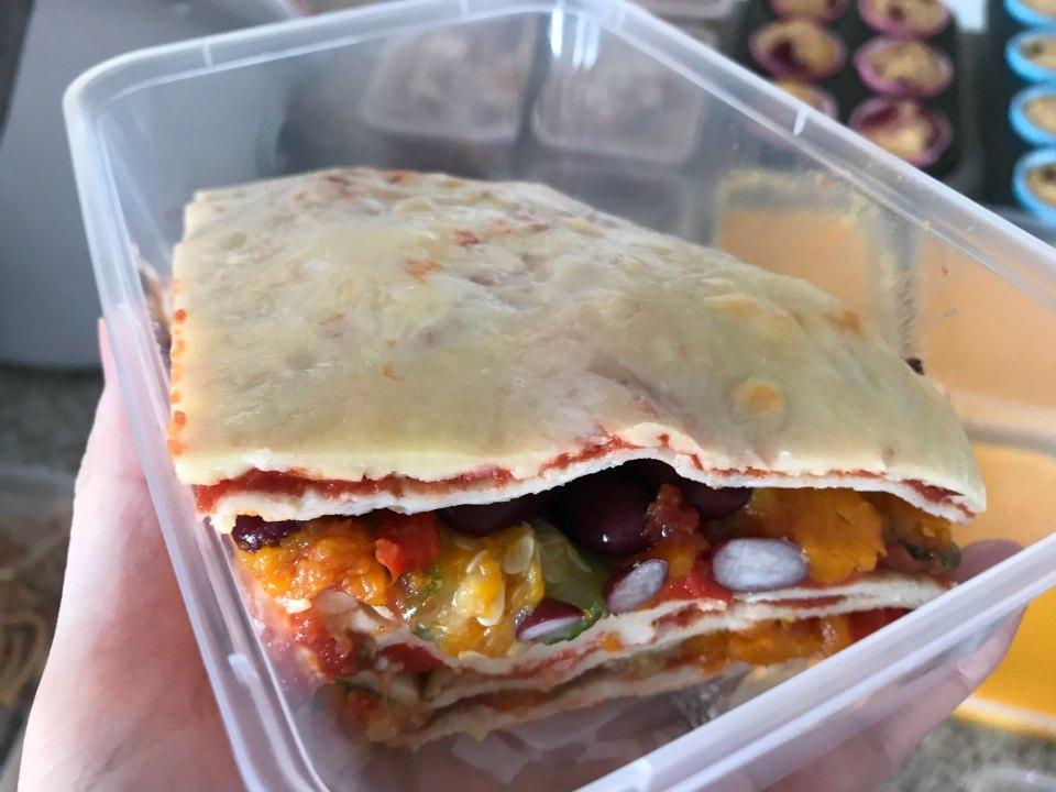 Baked Tortilla Stack
