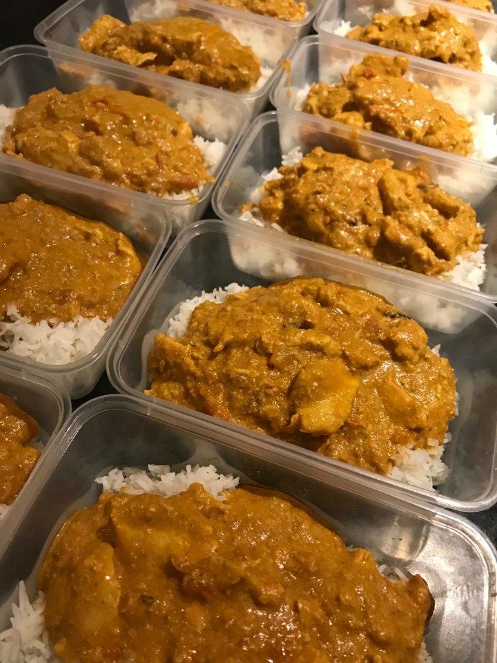 Peanut Butter Curry Chicken
