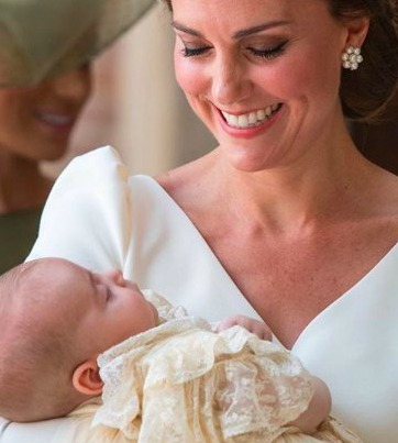 Prince Louis has just been christened and the dessert served is exceptionally sweet!