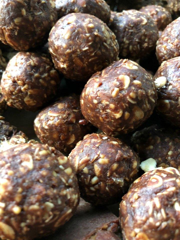 Choc Peanut Bliss Balls