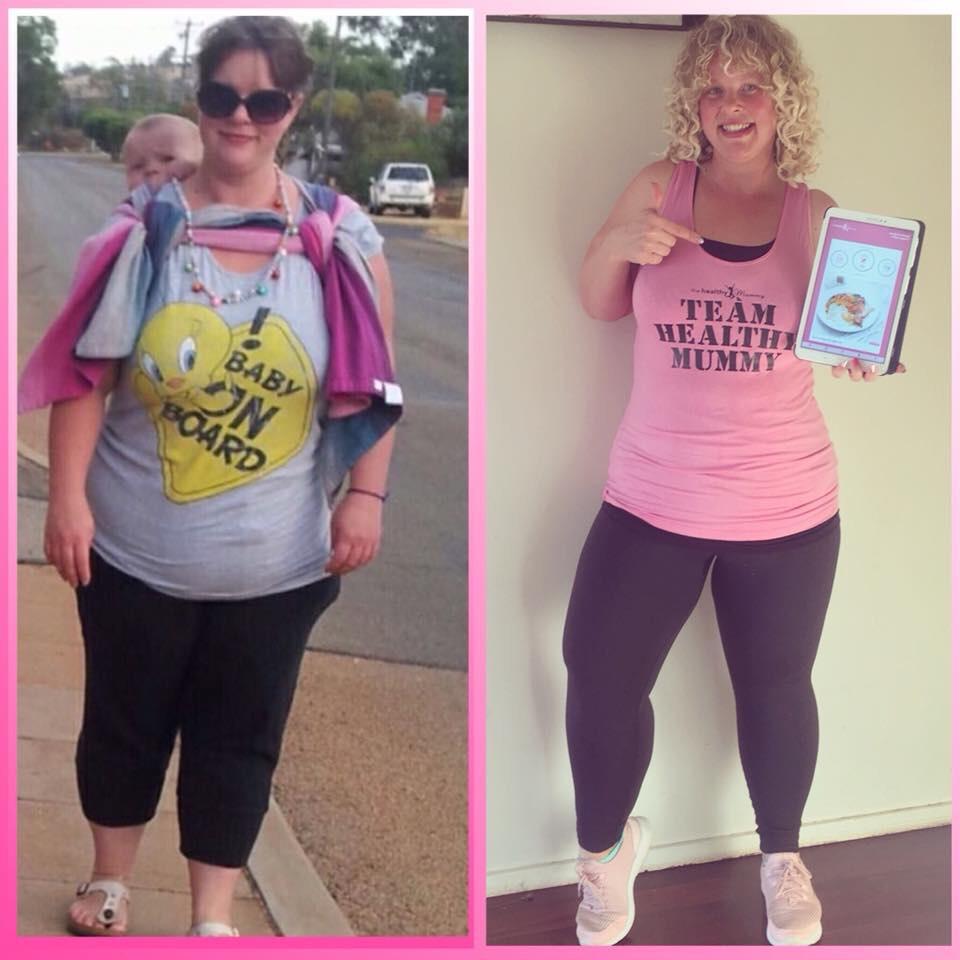 Lisa-Porterhouse-reaches-weight-loss-goals-Healthy-Mummy-Challenge-App
