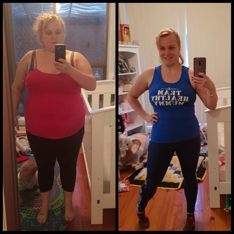 sarah maynard transformation start challenge sept