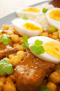 Moroccan North African Middle Eastern Food Lamb Tagine Eggs Chic