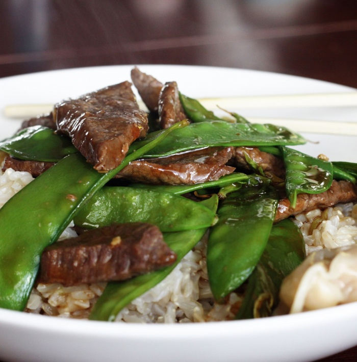 Chinese Beef and Snowpea Stir Fry The Healthy Mummy
